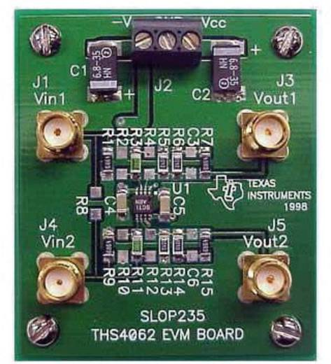 Entwicklungsboard Texas Instruments THS4062EVM