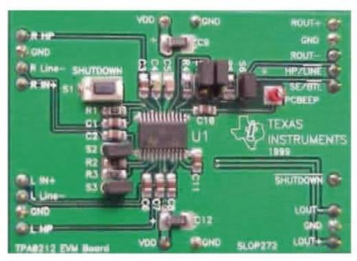 Entwicklungsboard Texas Instruments TPA0212EVM