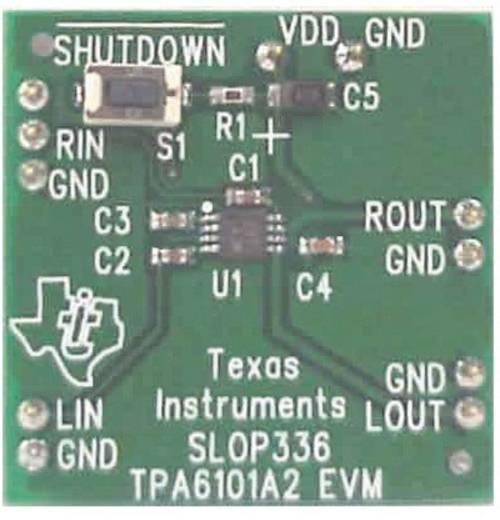 Entwicklungsboard Texas Instruments TPA6101A2EVM