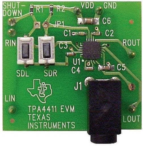 Entwicklungsboard Texas Instruments TPA4411EVM