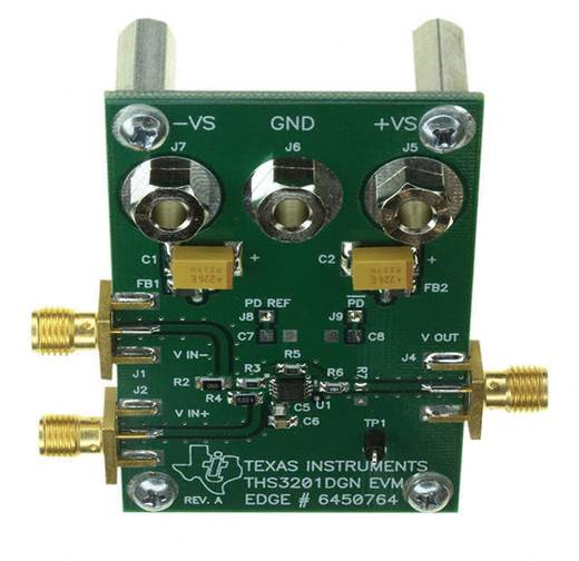 Entwicklungsboard Texas Instruments THS3201EVM