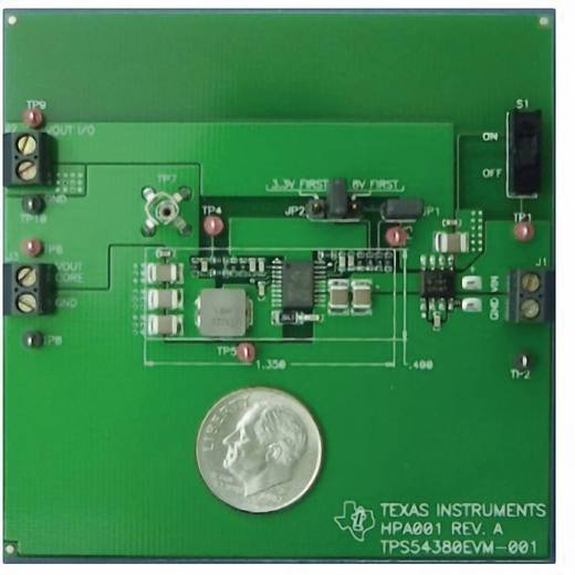 Entwicklungsboard Texas Instruments TPS54380EVM-001
