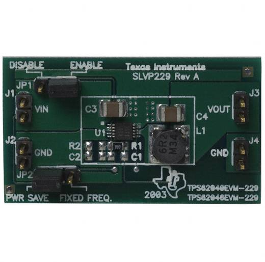 Entwicklungsboard Texas Instruments TPS62046EVM-229