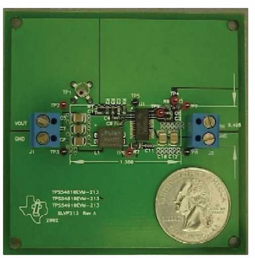 Entwicklungsboard Texas Instruments TPS54910EVM-213