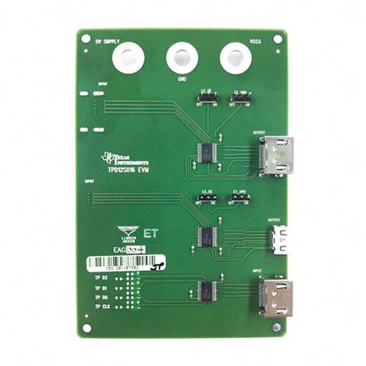 Entwicklungsboard Texas Instruments TPD12S016PWREVM