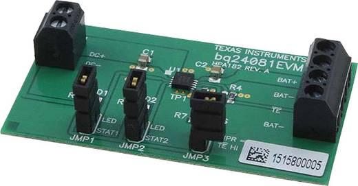 Entwicklungsboard Texas Instruments BQ24081EVM
