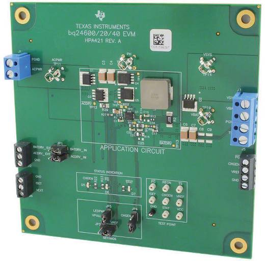 Entwicklungsboard Texas Instruments BQ24640EVM