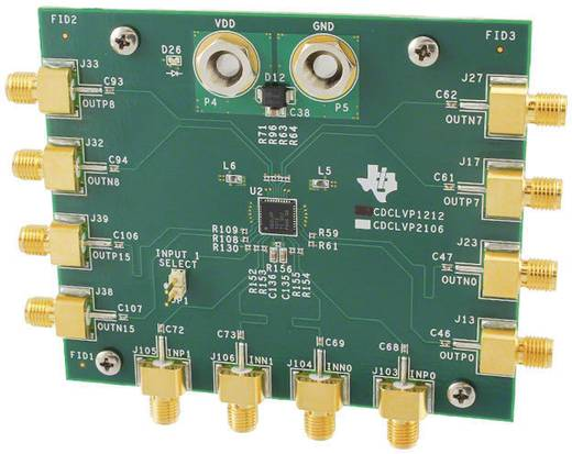 Entwicklungsboard Texas Instruments CDCLVP1212EVM