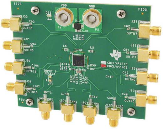 Entwicklungsboard Texas Instruments CDCLVP2108EVM