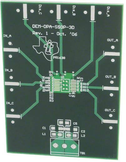 Platine (unbestückt) Texas Instruments DEM-OPA-SSOP-3D