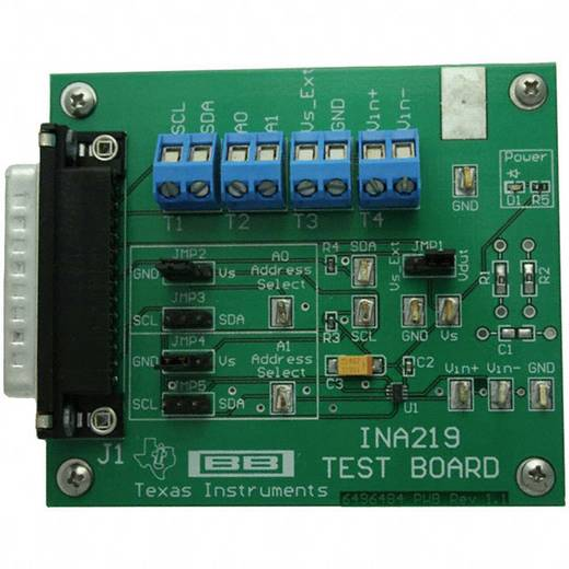 Entwicklungsboard Texas Instruments INA219EVM