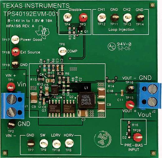 Entwicklungsboard Texas Instruments TPS40192EVM-001