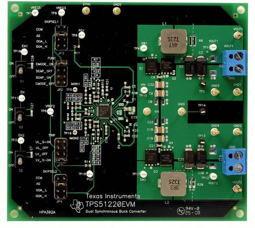 Entwicklungsboard Texas Instruments TPS51220EVM