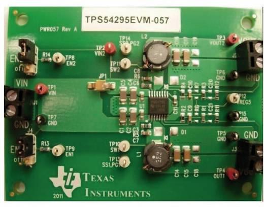 Entwicklungsboard Texas Instruments TPS54295EVM-057