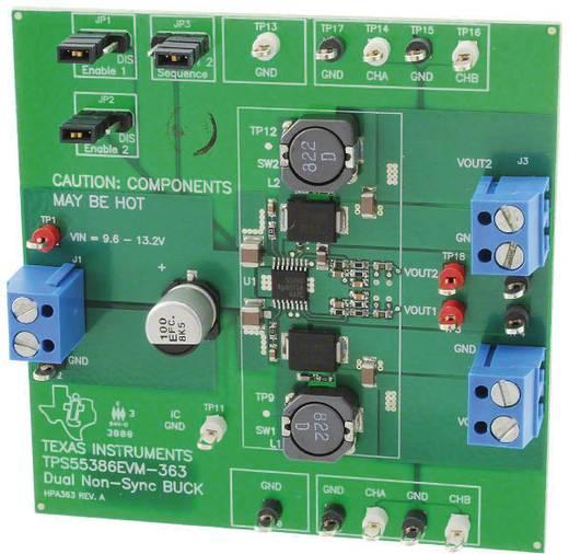 Entwicklungsboard Texas Instruments TPS55386EVM-363