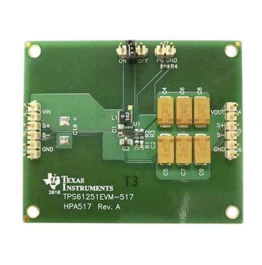 Entwicklungsboard Texas Instruments TPS61251EVM-517