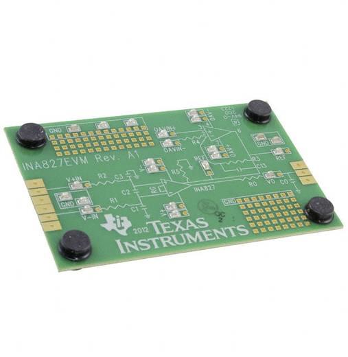 Entwicklungsboard Texas Instruments INA827EVM