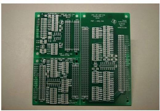 Platine (unbestückt) Texas Instruments OPAMPEVM-PDIP