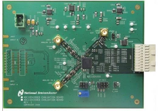 Entwicklungsboard Texas Instruments ADC10DV200EB/NOPB
