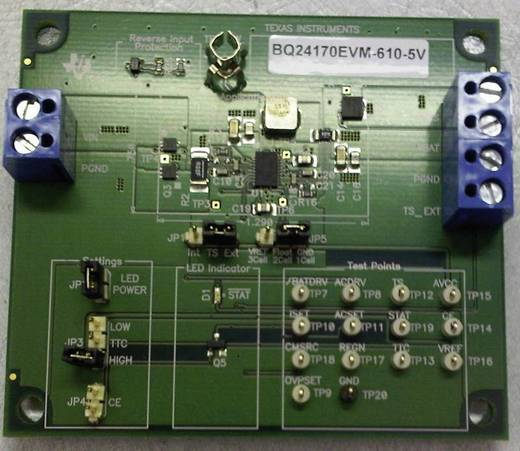 Entwicklungsboard Texas Instruments BQ24170EVM-610-5V