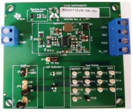 Entwicklungsboard Texas Instruments BQ24171EVM-706-15V