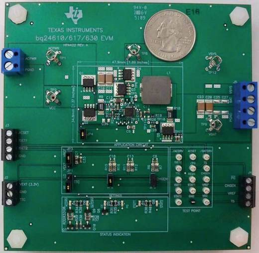 Entwicklungsboard Texas Instruments BQ24617EVM