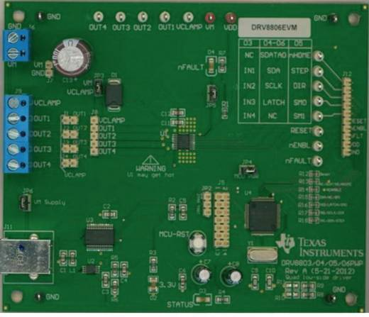 Entwicklungsboard Texas Instruments DRV8806EVM