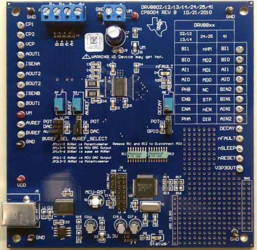Entwicklungsboard Texas Instruments DRV8813EVM