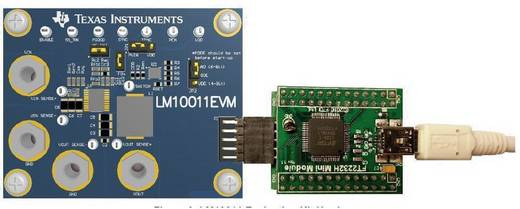 Entwicklungsboard Texas Instruments LM10011EVM