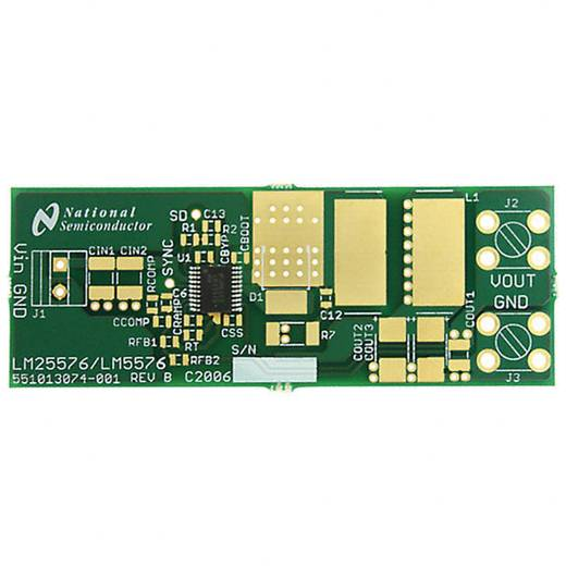 Entwicklungsboard Texas Instruments LM25576BLDT/NOPB
