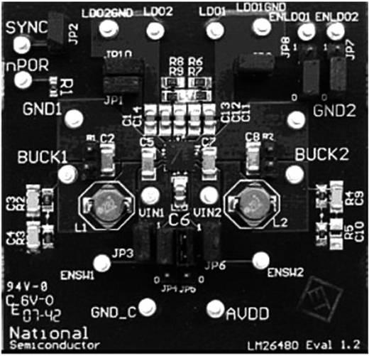 Entwicklungsboard Texas Instruments LM26480SQ-AAEV/NOPB