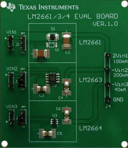 Entwicklungsboard Texas Instruments LM2661/3/4EVAL/NOPB