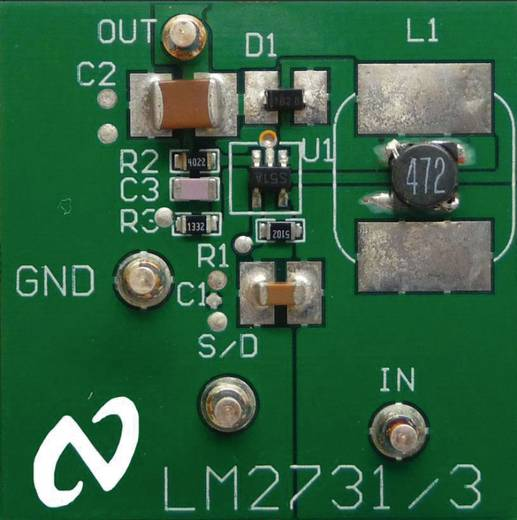 Entwicklungsboard Texas Instruments LM2731XEVAL/NOPB