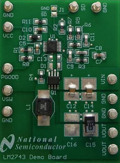 Entwicklungsboard Texas Instruments LM2743EVAL/NOPB