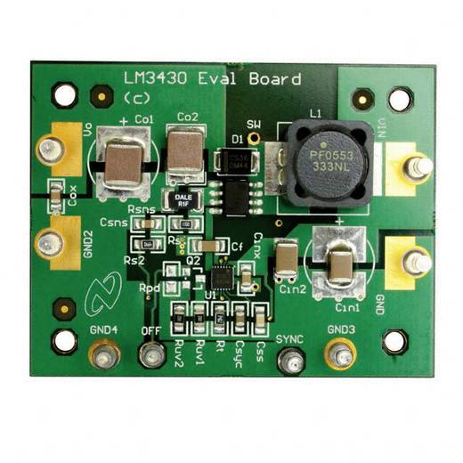 Entwicklungsboard Texas Instruments LM3430EVAL/NOPB