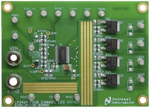 Entwicklungsboard Texas Instruments LM3464AEVAL/NOPB
