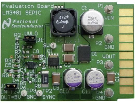 Entwicklungsboard Texas Instruments LM3481SEPICEVAL/NOPB