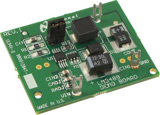 Entwicklungsboard Texas Instruments LM3489EVAL/NOPB
