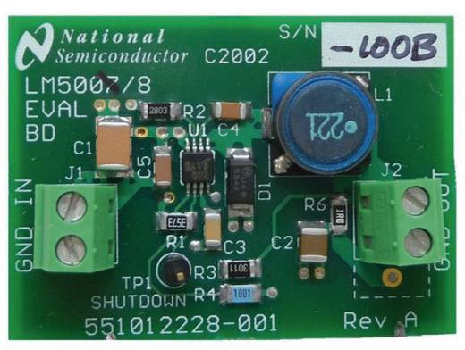 Entwicklungsboard Texas Instruments LM5008EVAL/NOPB