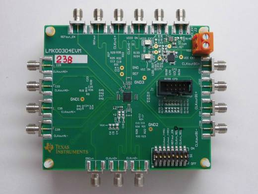 Entwicklungsboard Texas Instruments LMK00304EVM/NOPB