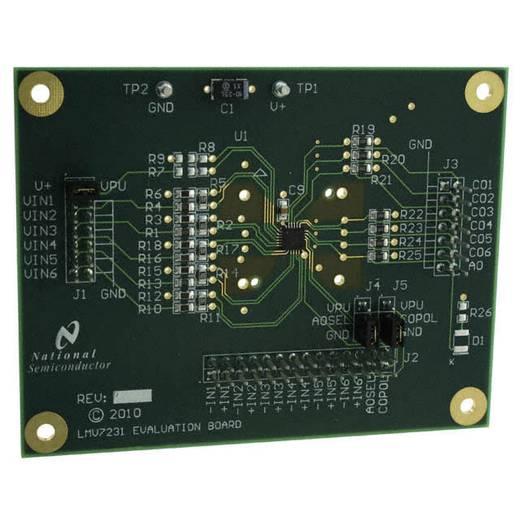 Entwicklungsboard Texas Instruments LMV7231EVAL/NOPB