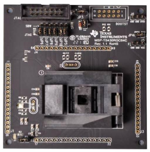 Entwicklungsboard Texas Instruments MSP-TS430RGC64C