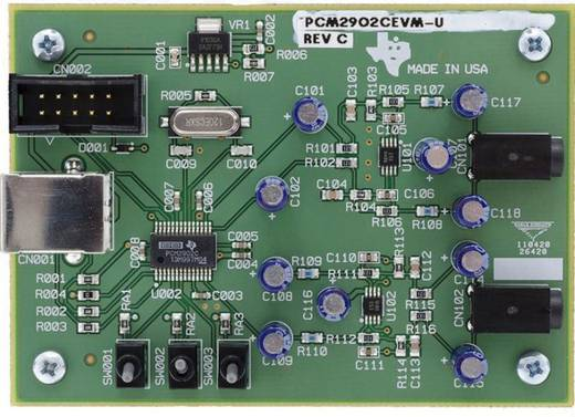 Entwicklungsboard Texas Instruments PCM2902CEVM-U