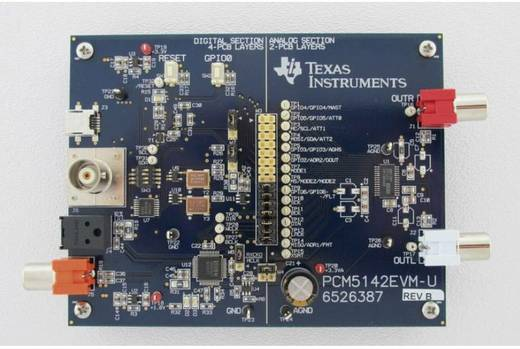 Entwicklungsboard Texas Instruments PCM5142EVM-U