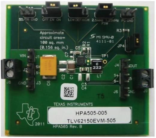 Entwicklungsboard Texas Instruments TLV62150EVM-505