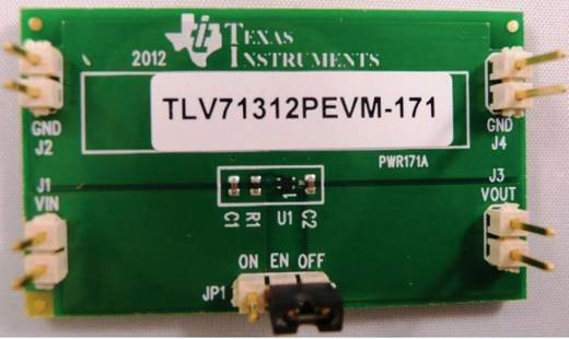 Entwicklungsboard Texas Instruments TLV71312PEVM-171