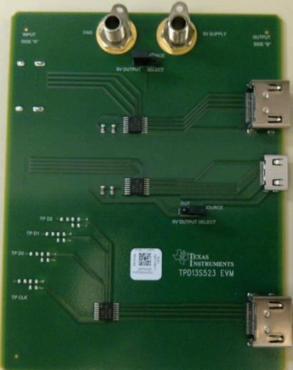 Entwicklungsboard Texas Instruments TPD13S523EVM