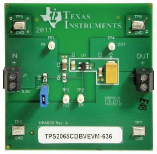 Entwicklungsboard Texas Instruments TPS2065CDBVEVM-636