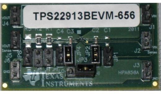 Entwicklungsboard Texas Instruments TPS22913BEVM-656