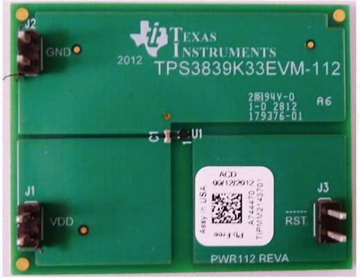 Entwicklungsboard Texas Instruments TPS3839K33EVM-112
